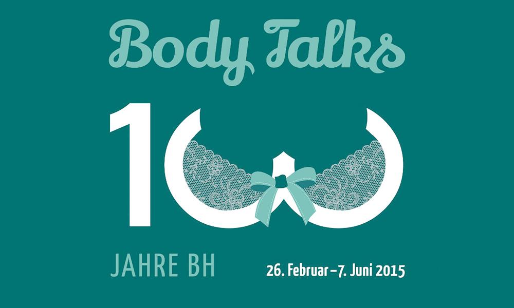 My Body Talks Ausstellungsplakat Museum für Kommunikation Nürnberg