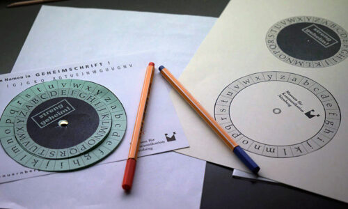 Caesar-Code Kinder Museum fuer Kommunikation