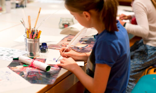 Geheimtinte Kinder Museum fuer Kommunikation