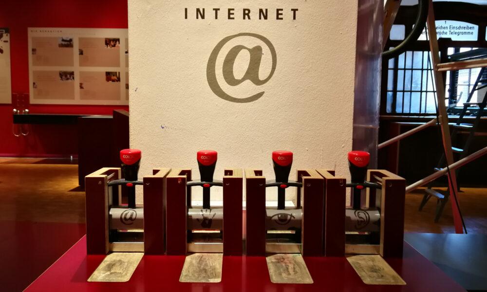 Das @-Zeichen, Museum für Kommunikation Nürnberg