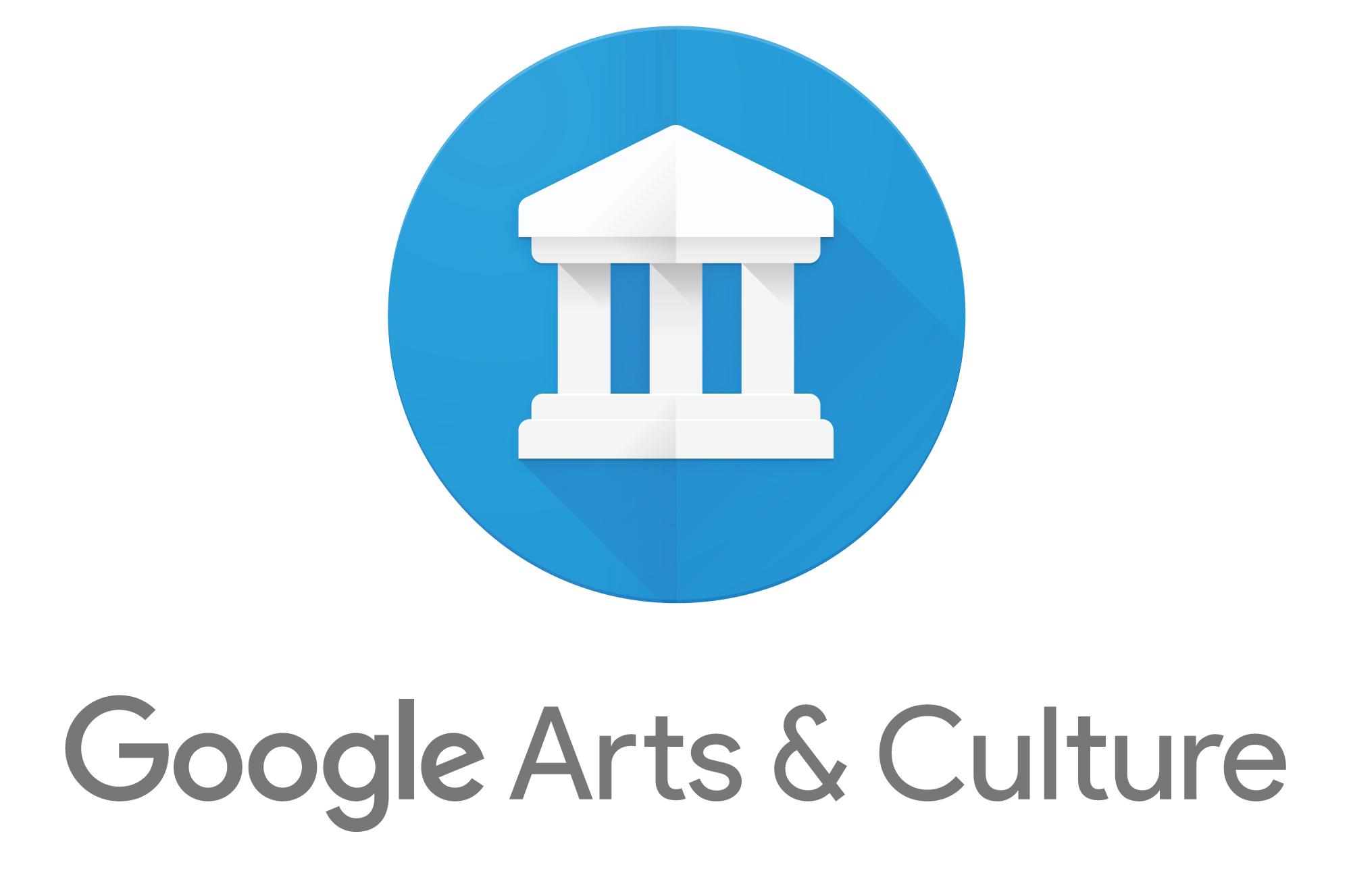 Das Logo Google Arts and Culture Initiative