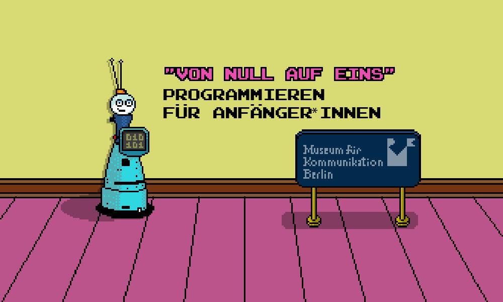 Keyvisual Programmieren für Anfänger