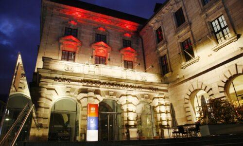 Abends im Museum fuer Kommunikation Nuernberg