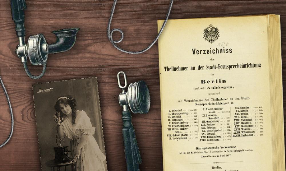 Historische Telefonbücher Berlin