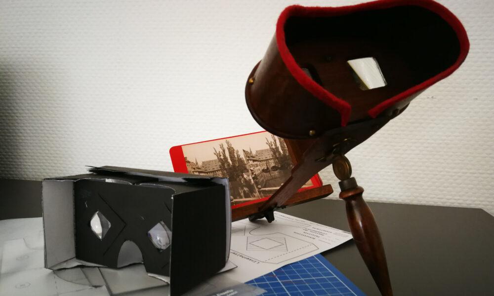 Virtual Reality Brillen selbst gebaut