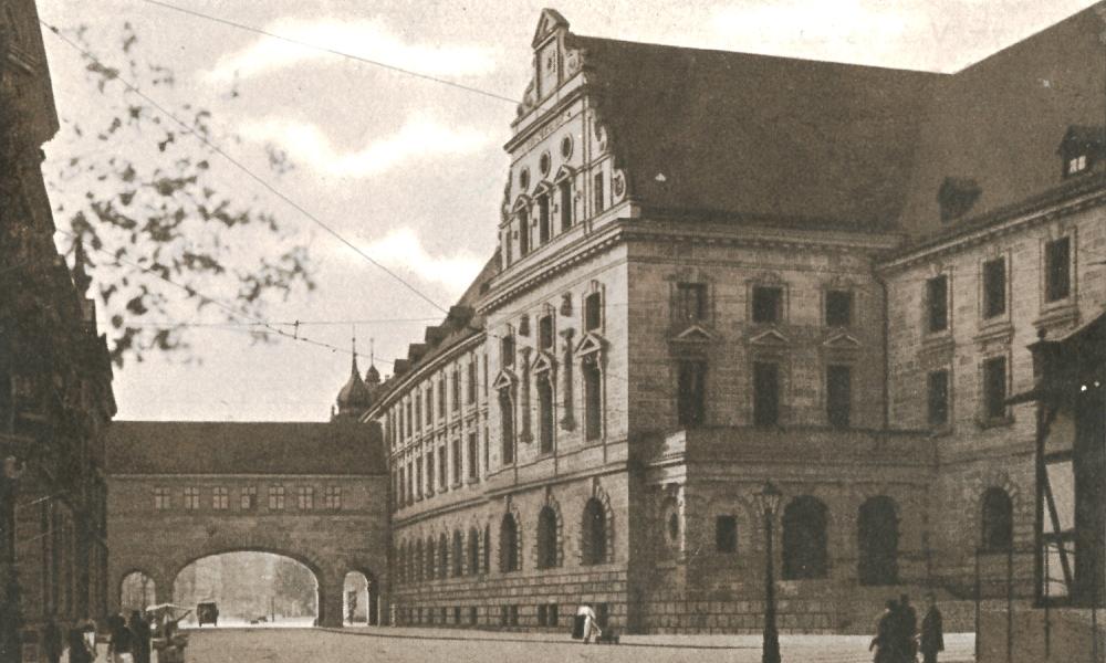 Historische Ansicht des Museums