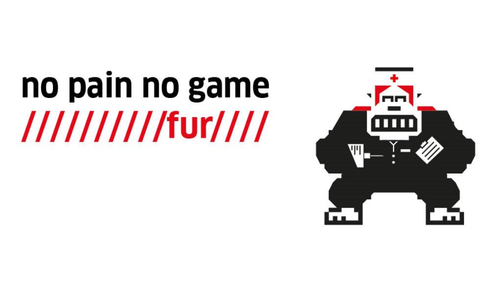 No pain no game Key Visual