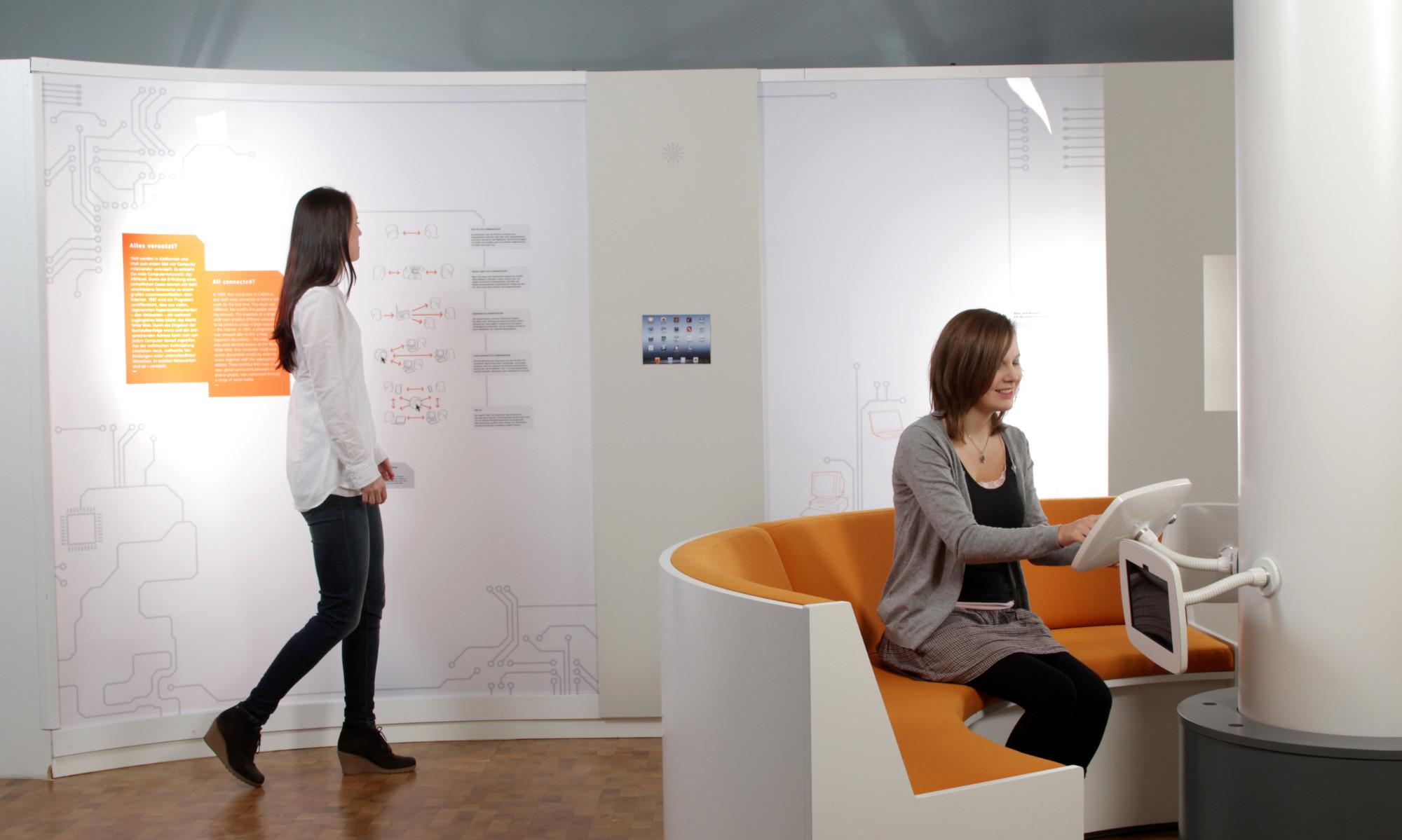 Blick ins Museum für Kommunikation Nürnberg